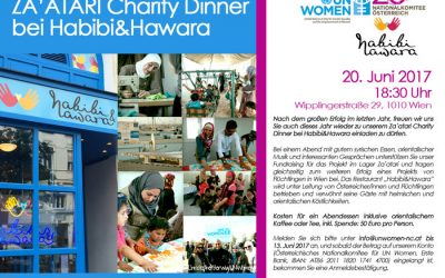 Charity Dinner bei Habibi und Hawara 2017