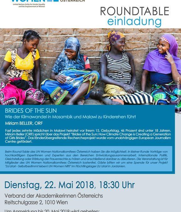 Einladung zum Round Table am 22. Mai