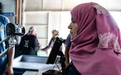 Corona: Die Situation syrischer Flüchtlinge in den Oasen von UN Women