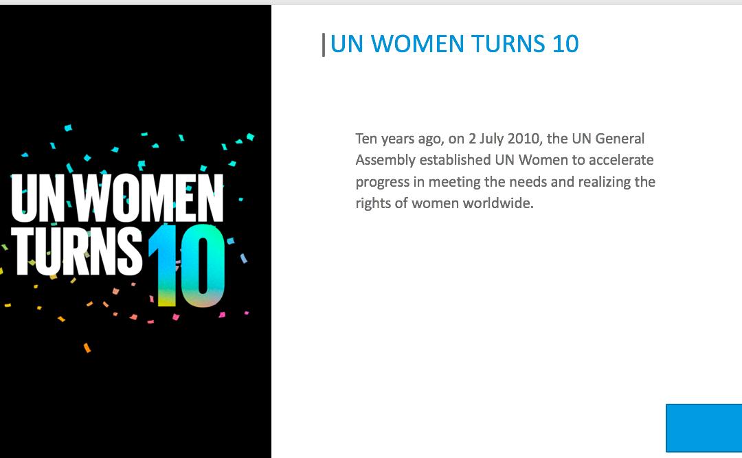 """Nachlese zur Round Table """"10 Jahre UN Women"""""""