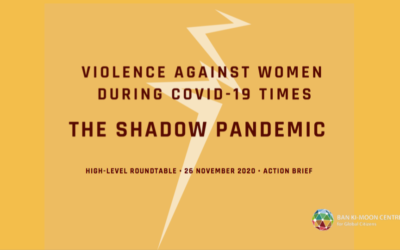 "Nachlese: ""The Shadow Pandemic: Violence Against Women During COVID-19 Times"""