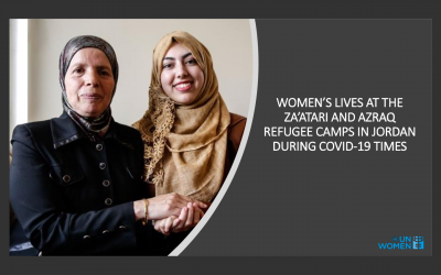 """Nachlese: """"Women´s lives at the Za'atari and Azraq refugee camps in Jordan during COVID-19 times"""""""
